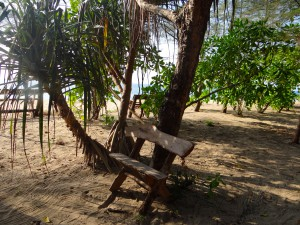 On the beach at Koh Ra