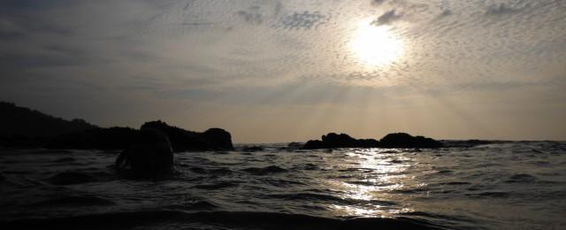 Koh Ra Beach Camp Sunset