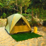 Koh Ra Beach Camp Volunteer tent