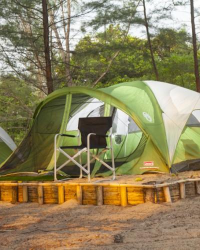 Camping on Koh Ra