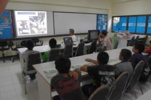 Koh Ra Hornbills from the classroom